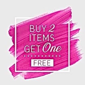 Buy 2 Items Get One Mystery Clothing Item Free